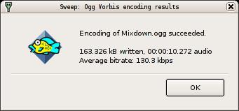Sweep File Dialogs
